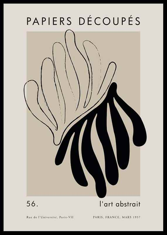 Matisse Cutout Black-0