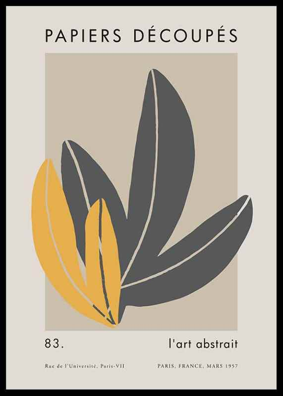 Matisse Cutout Leaves