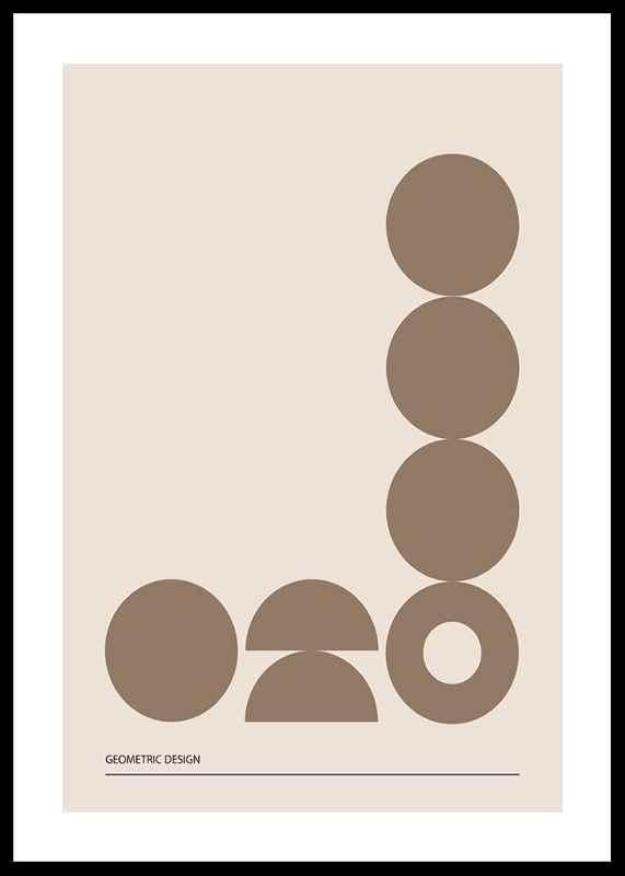 Geometric Graphic Beige No2-0