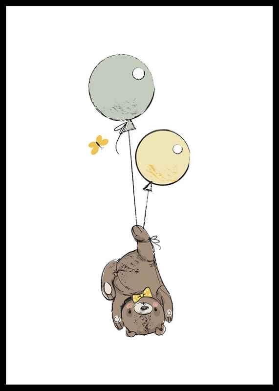 Animals And Balloons No3
