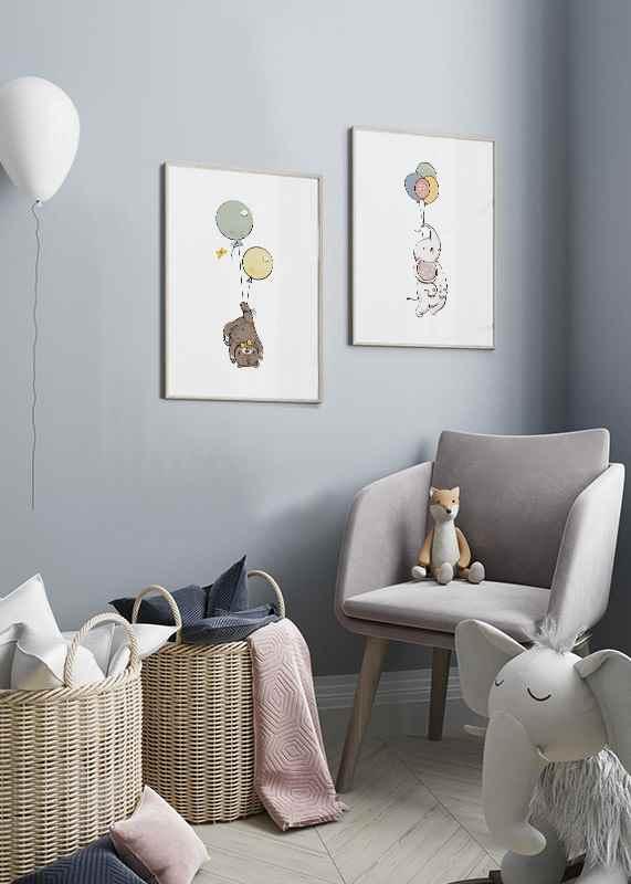 Animals And Balloons No3-2