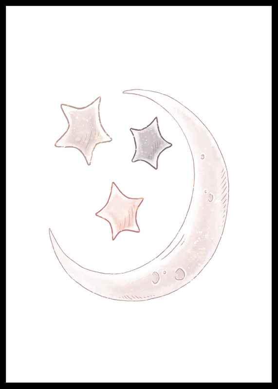 Moon And Stars-0