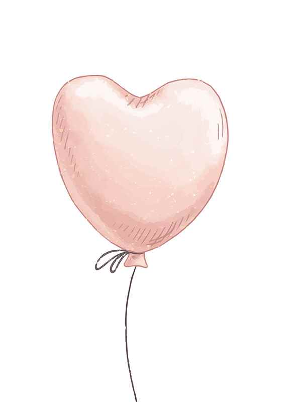 Heart Shaped Balloon-1