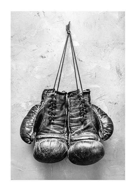 Worn Boxing Gloves-1
