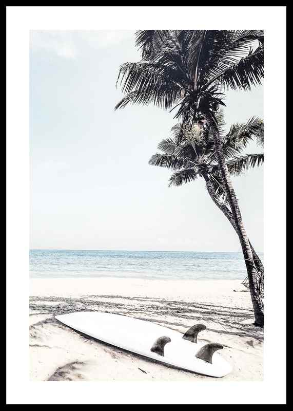 Surfboard On Beach-0