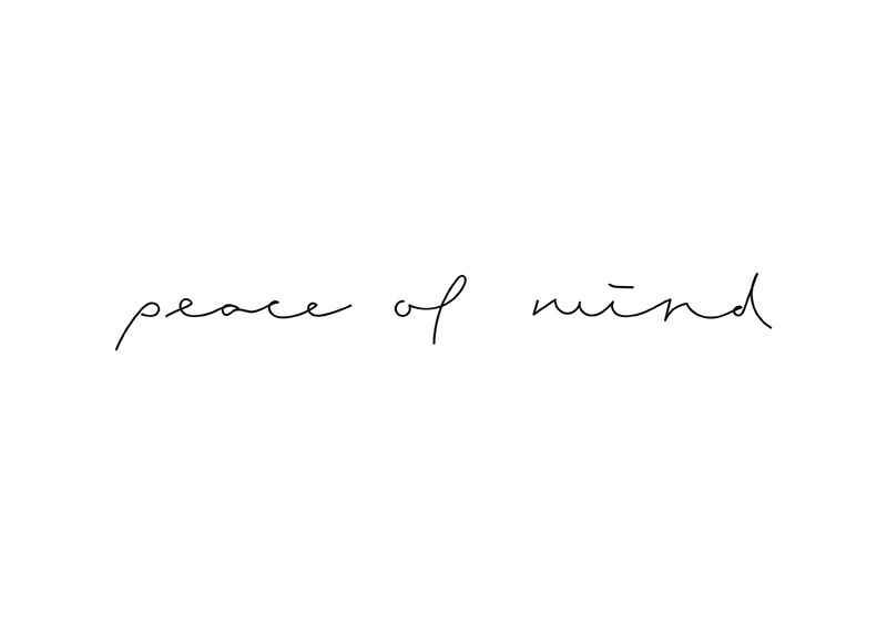 Peace of mind-1