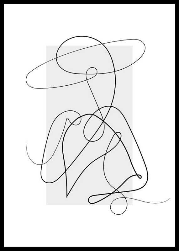 Shapes Line Art No4-0