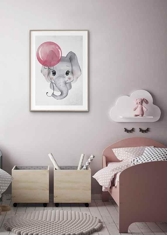 Elephant Pink Balloon-4