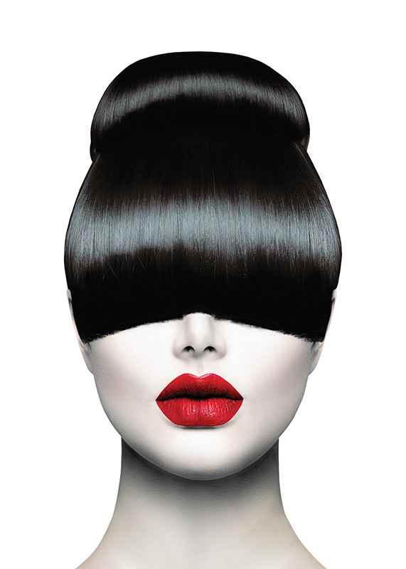 Red Lips Hair Cut-1