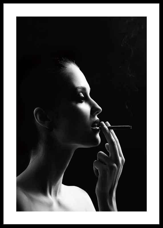 Smoking Woman-0