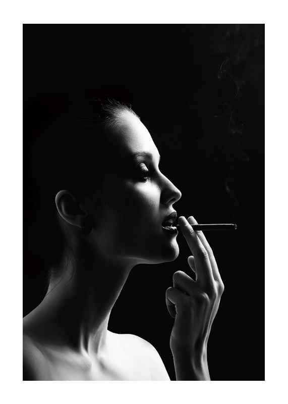 Smoking Woman-1