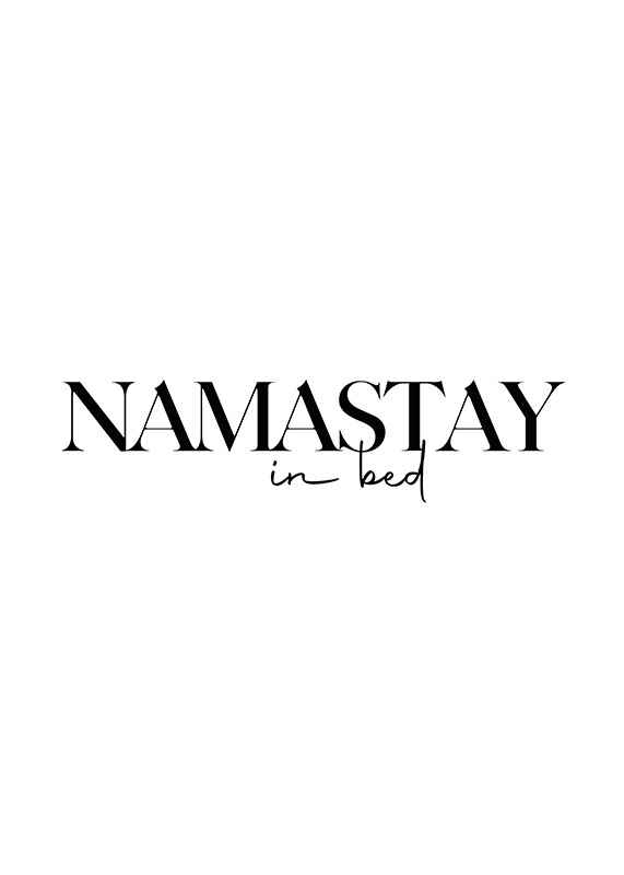 Namastay In Bed-1