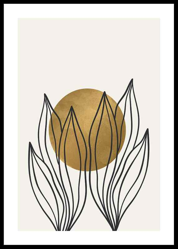 Watercolor Gold No1-0