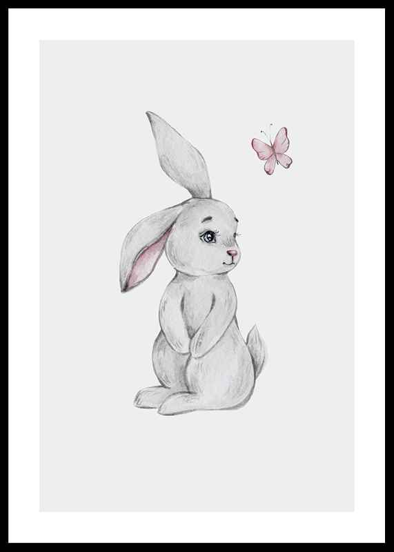 Bunny And Butterfly-0