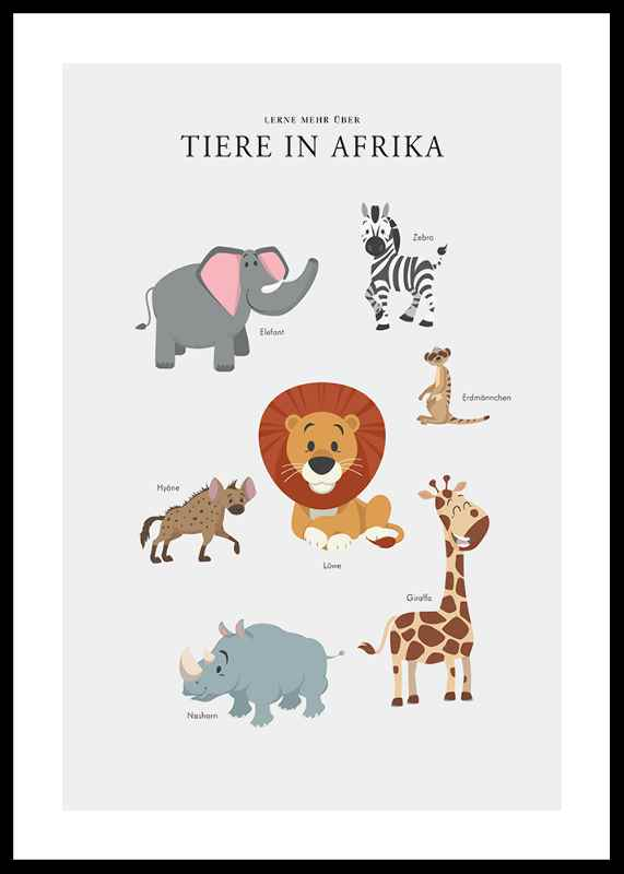 Tiere In Afrika-0