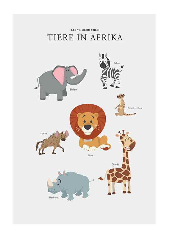 Tiere In Afrika-1