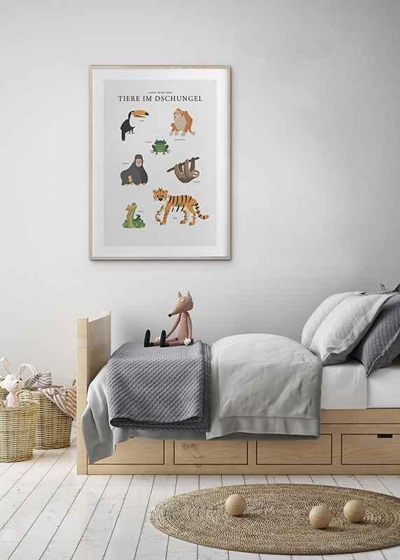 Tiere Im Dschungel-4