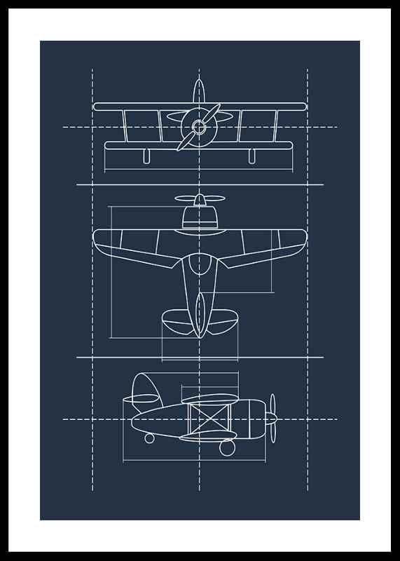 Blueprint Plane-0