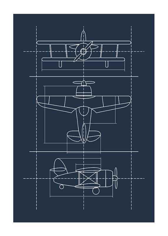 Blueprint Plane-1