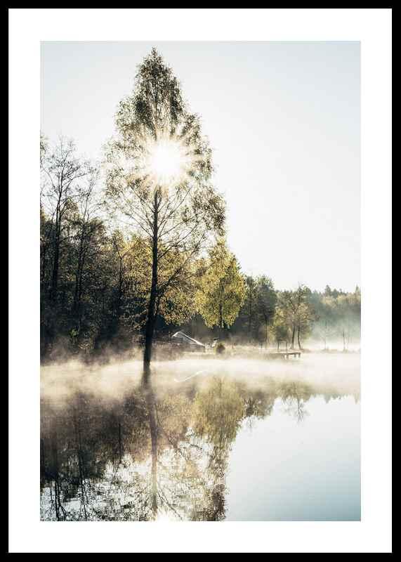 Lake At Sunrise-0
