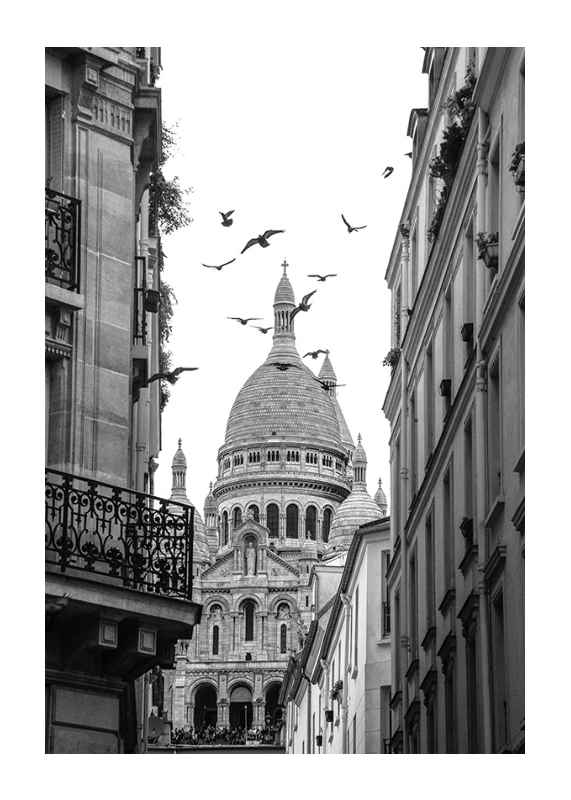 Afternoon in Montmartre-1