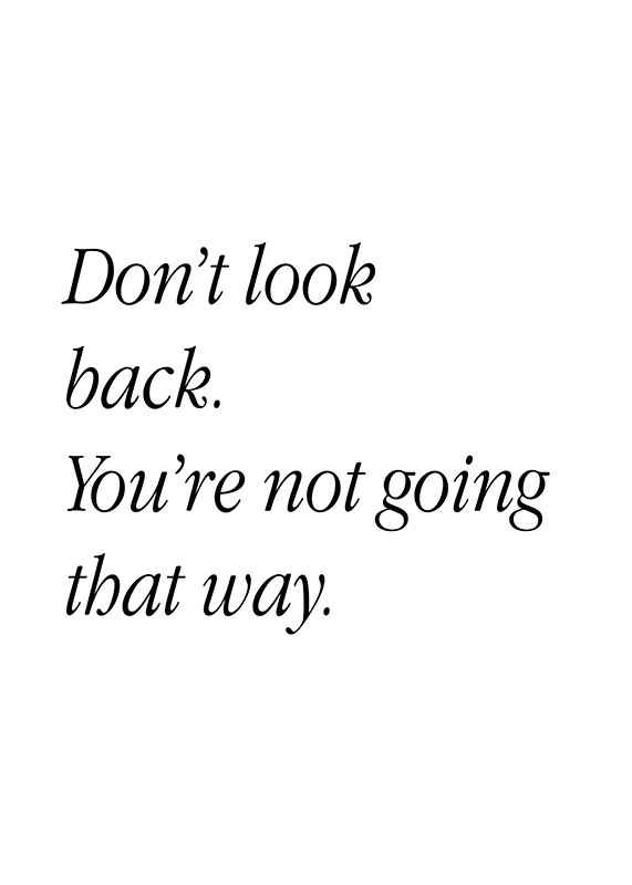 Don't Look Back-1