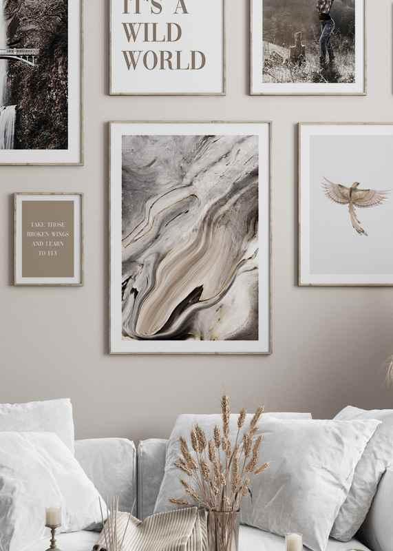 Abstract Texture No1-4