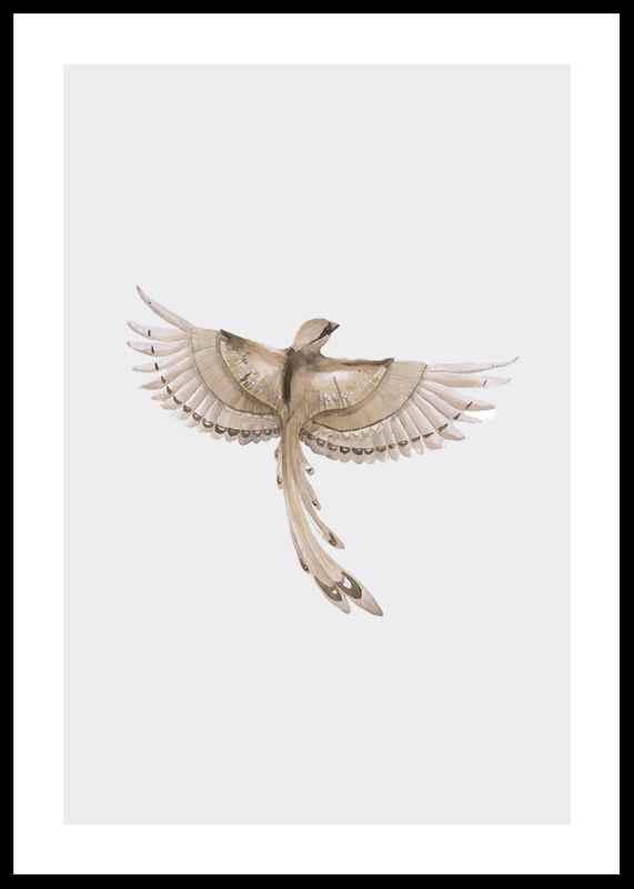 Watercolor Jay Bird
