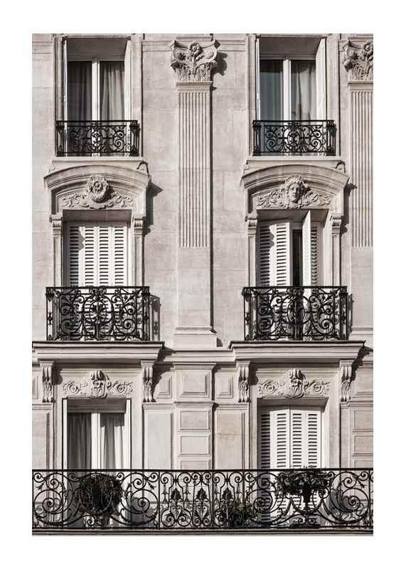 Parisian Building Facade-1