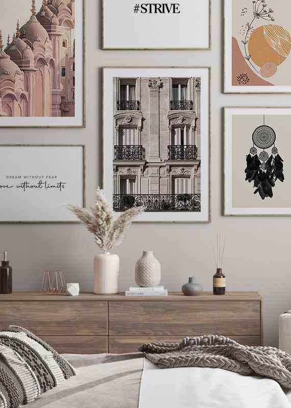 Parisian Building Facade-4
