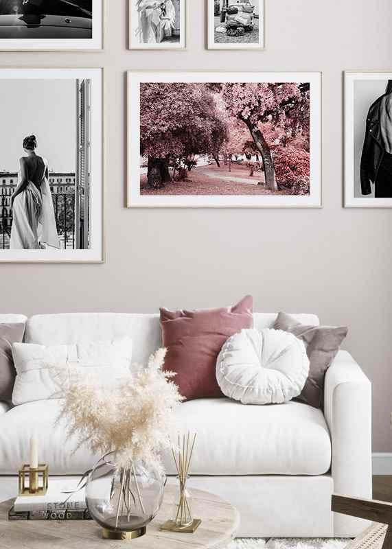 Pink Trees No1-4