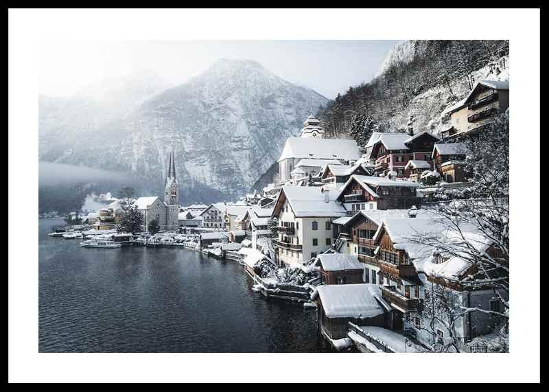 Hallstatt In Winter-0