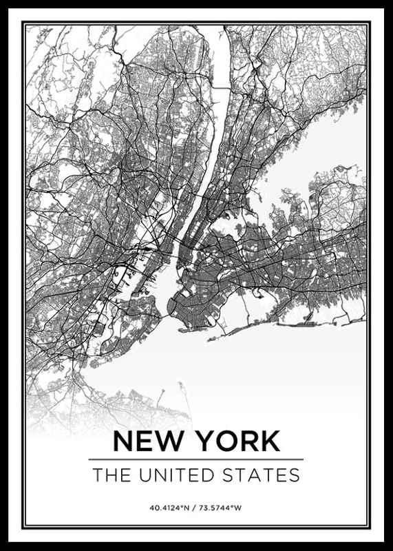 New York Karte-0