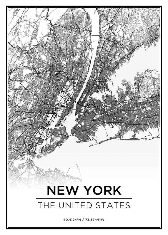 New York Karte-1