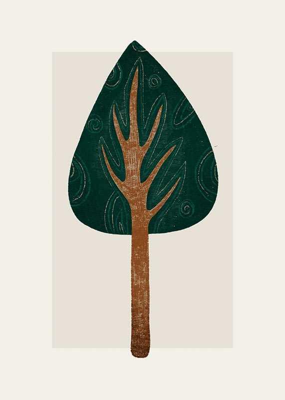 Abstract Tree No1-1
