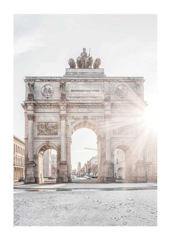 The Siegestor In Munich-1