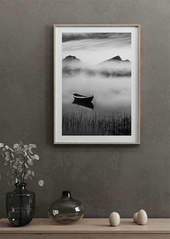 Boat In Mist-4