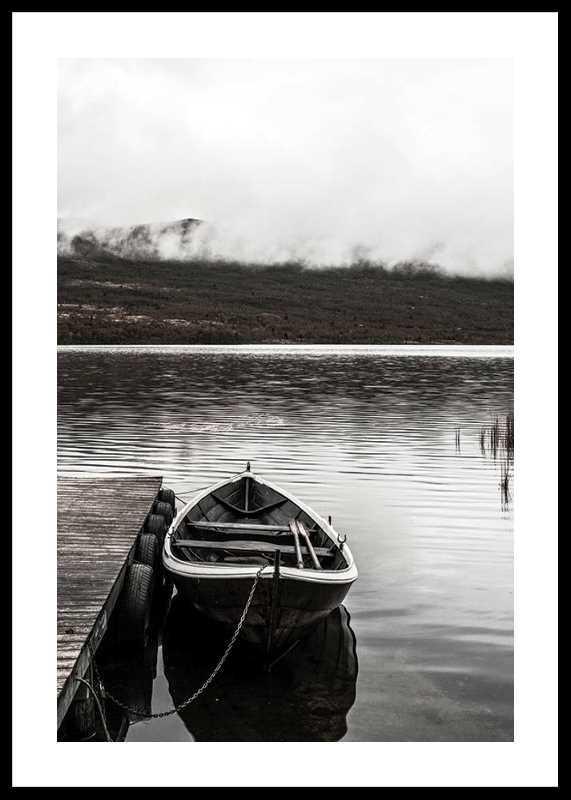 Boat In Lake-0