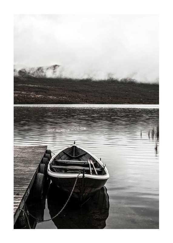 Boat In Lake-1