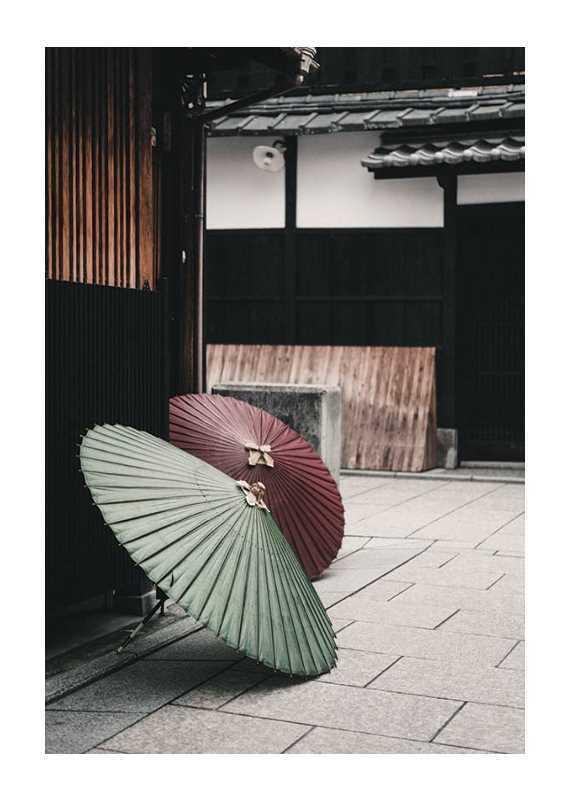 Umbrellas In Kyoto-1