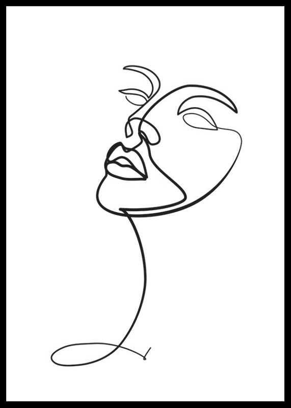 Line Art Face