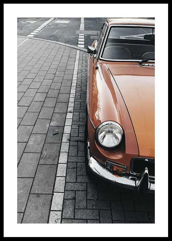 Classic Car On Street