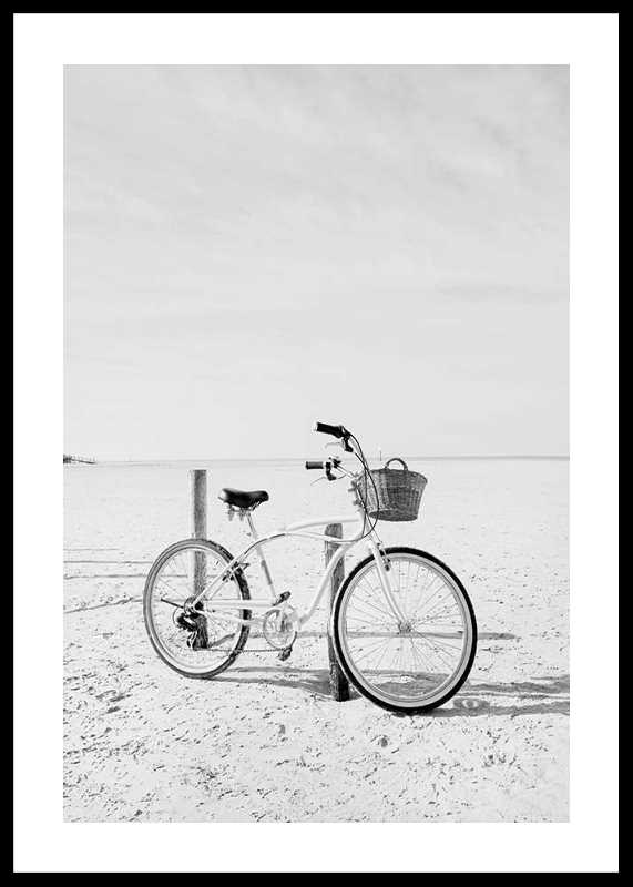 Bicycle On The Beach-0