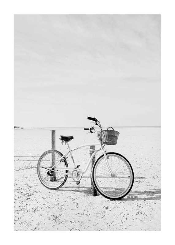 Bicycle On The Beach-1