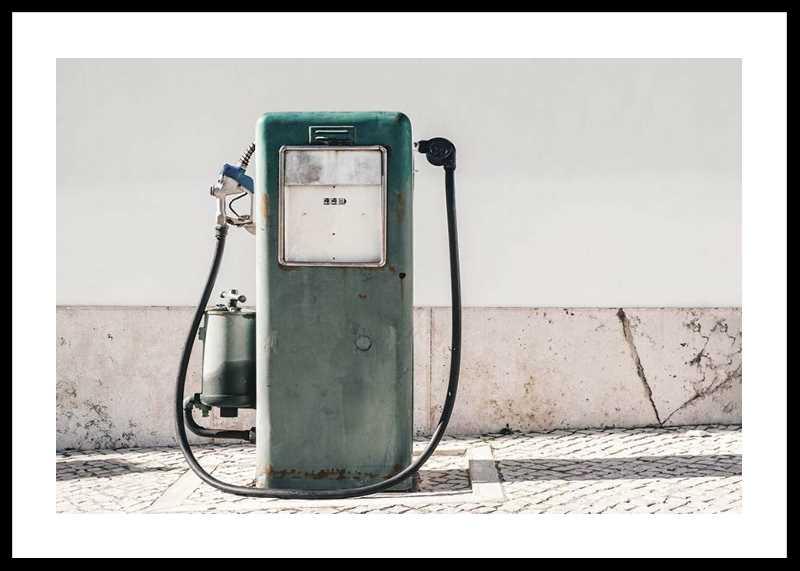 Vintage Gasoline Pump-0