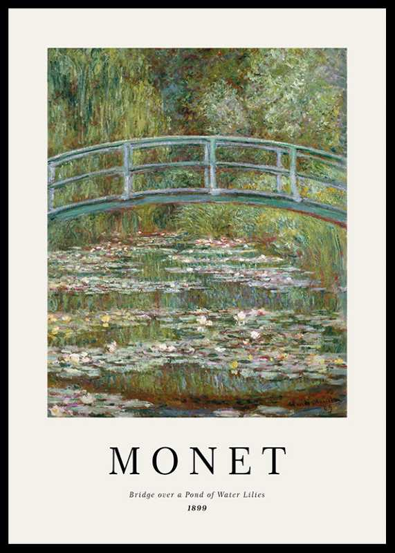 Monet Water Lily Pond
