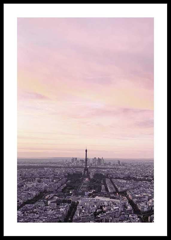 Paris During Sunset