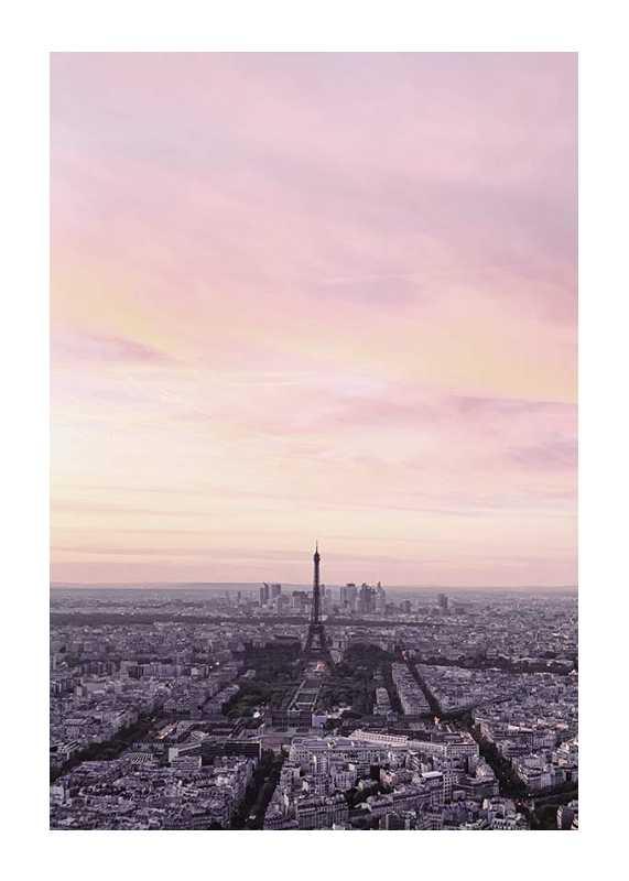 Paris During Sunset-1