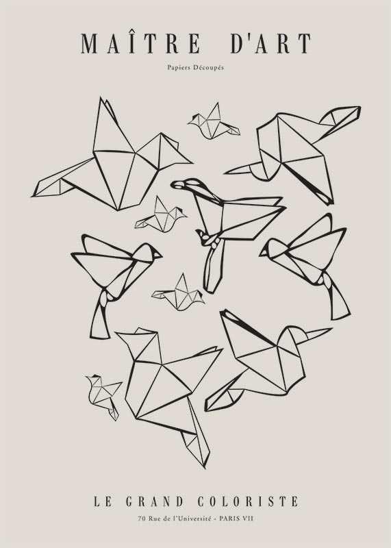 Matisse Oiseaux De Papier-1