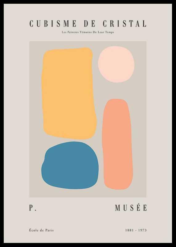 Picasso Quatre Cubisme